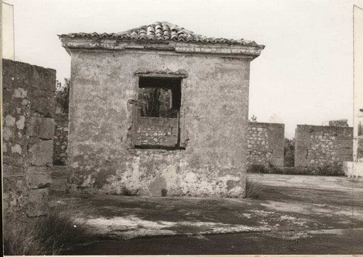 Εικ. 18β. Φυλάκιο της περιόδου που το φρούριο λειτούργησε ως φυλακή, το οποίο ανήκε στις τρεις μεταγένεστερες κατασκευές που αφαιρέθηκαν.