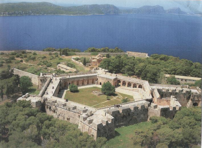 Εικ. 2. Η ακρόπολη του φρουρίου από τα ανατολικά.