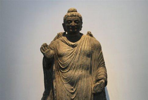 Σπάνιο άγαλμα του Βούδα, ηλικίας 1.800 ετών με προέλευση το Αφγανιστάν, που εντοπίστηκε στην Ιαπωνία.