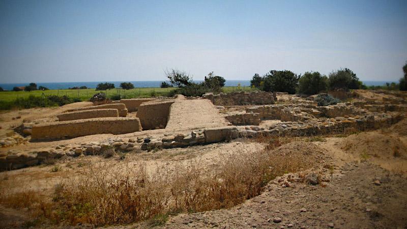 Η θέση Μαρόνι στην Κύπρο, η οποία έχει ερευνηθεί και στο πλαίσιο του προγράμματος NARNIA.