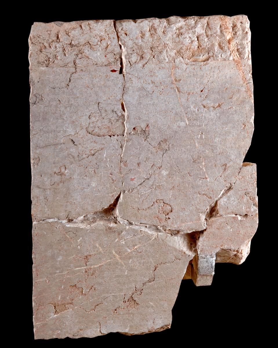 Εικ. 9. Κατάλογος δαπανών για την ετοιμασία των αγώνων του 246 π.Χ. (Μ.Δ. 3862).