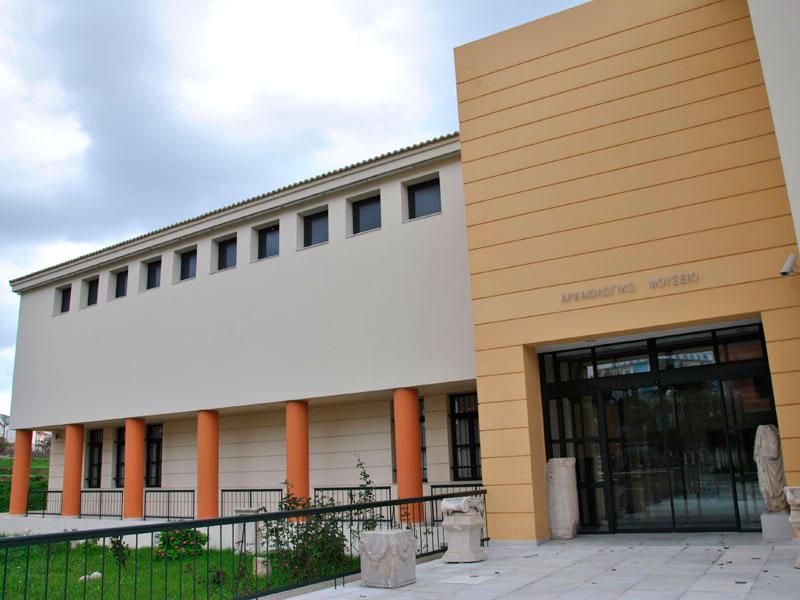 Το Αρχαιολογικό Μουσείο Πυθαγορείου Σάμου.