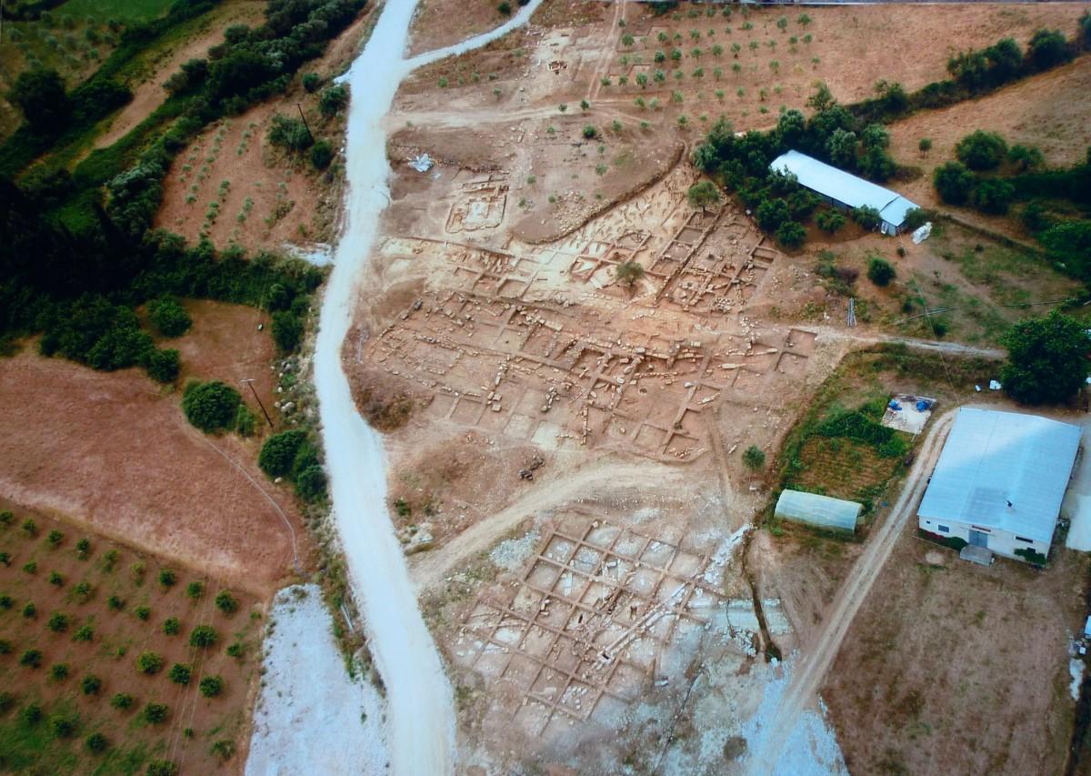 Εικ. 5. Γενική άποψη της ανασκαφής στην περιοχή της Καλυδώνας.