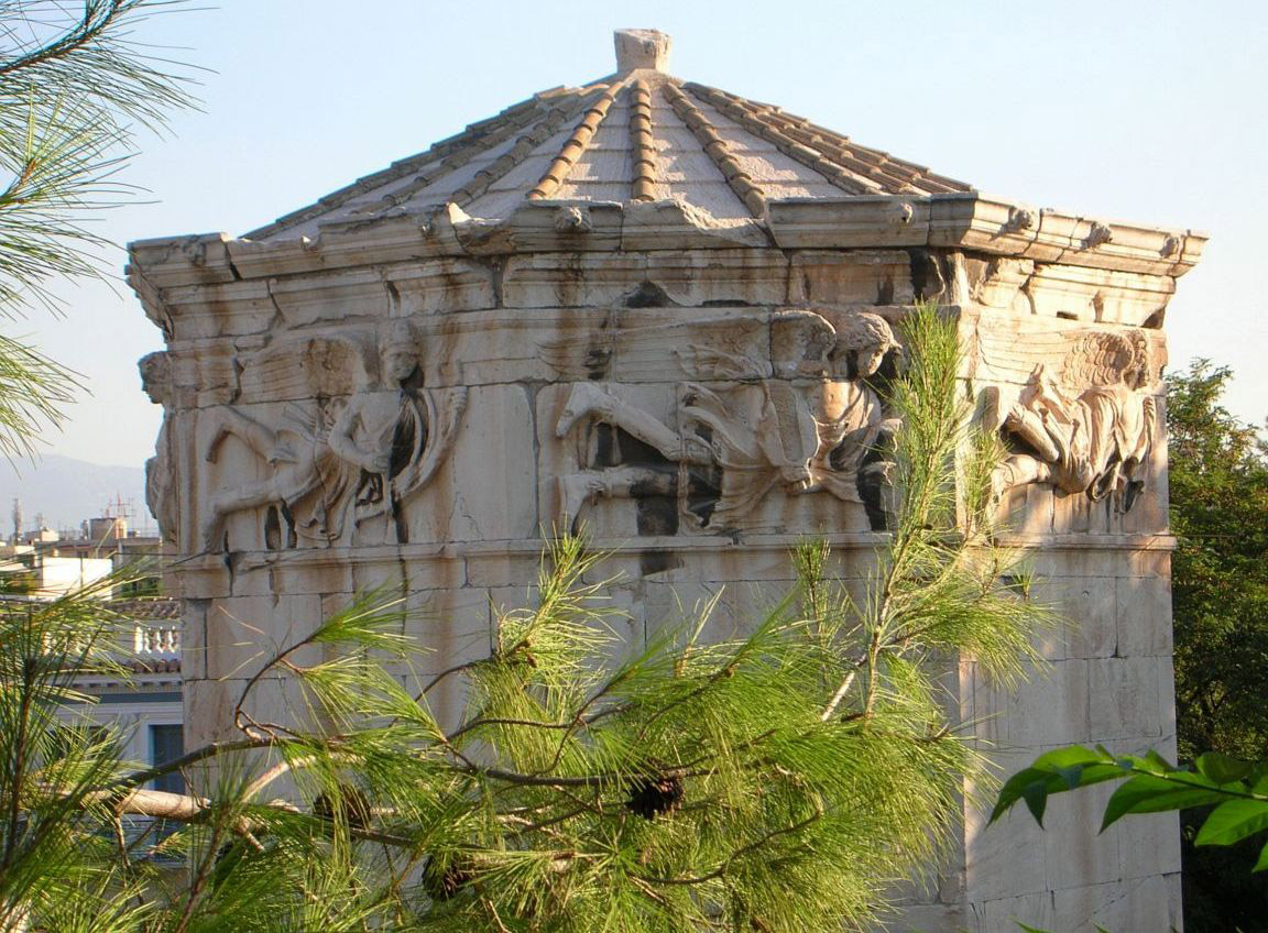 O Πύργος των Ανέμων ή Ωρολόγιο του Ανδρονίκου του Κυρρήστου.