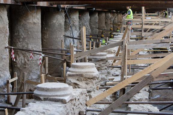 Από τις ανασκαφές στη Θεσσαλονίκη.