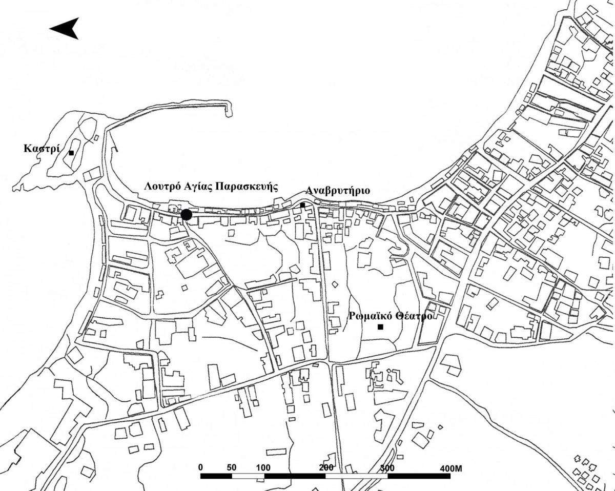 Σχ. 1.  Γενικό τοπογραφικό Λιμένα Χερσονήσου.