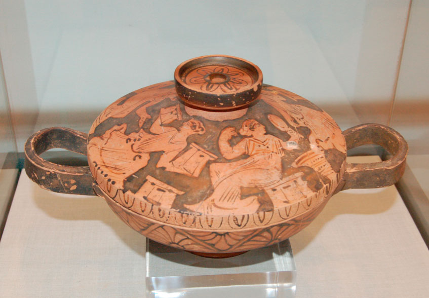 Έκθεμα στο Αρχαιολογικό Μουσείο Αλμυρού.