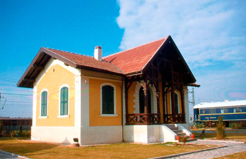 Το Σιδηροδρομικό Μουσείο Θεσσαλονίκης.