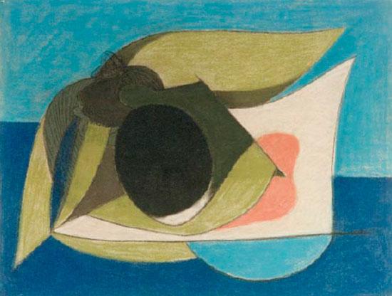 Νίκος Χατζηκυριάκος-Γκίκας, «Κοχύλι», 1930-1934. Πινακοθήκη Νίκου Χατζηκυριάκου-Γκίκα.