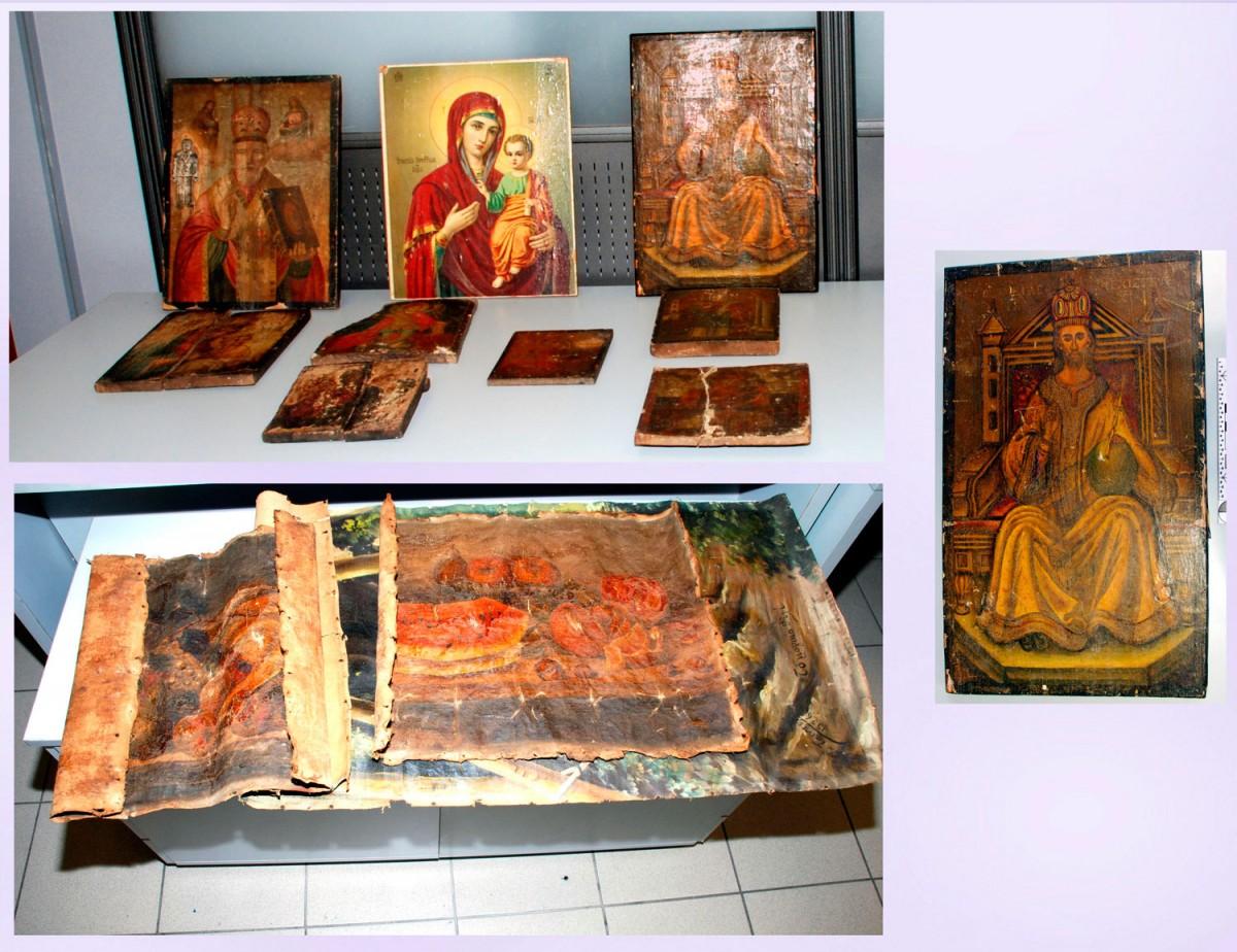 Eικόνες μεγάλης χρηματικής και χρονολογικής αξίας είχαν στην κατοχή τους δύο Έλληνες που συνελήφθησαν στη Λάρισα.