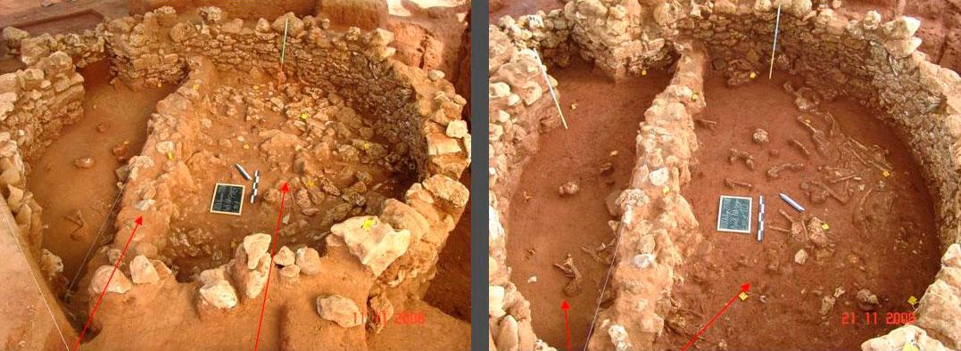 Εικ. 13. Π.Ο.Τ.Α. Ρωμανού, διαδρομή 16, θολωτός τάφος.