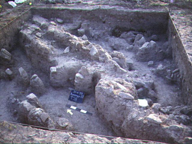 Άποψη της ανασκαφής στον νεολιθικό οικισμό που βρίσκεται στη Μαγούλα Μπελίτσι.