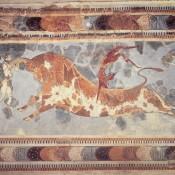 Οι μινωικές τοιχογραφίες στο Μουσείο Ηρακλείου