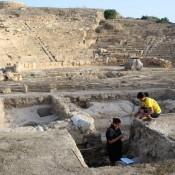 Νέα στοιχεία για την αρχιτεκτονική του αρχαίου θεάτρου της Πάφου