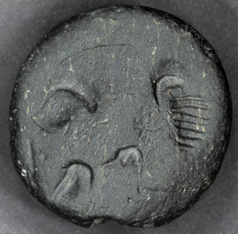 Εικ. 23. Σφραγίδα που εικονίζει σκορπιό, από τον Χώρο 28.