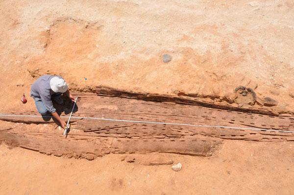 To αρχαιότερο πλοίο που έχει βρεθεί στην Αίγυπτο χρονολογείται στο 2950 π.Χ.