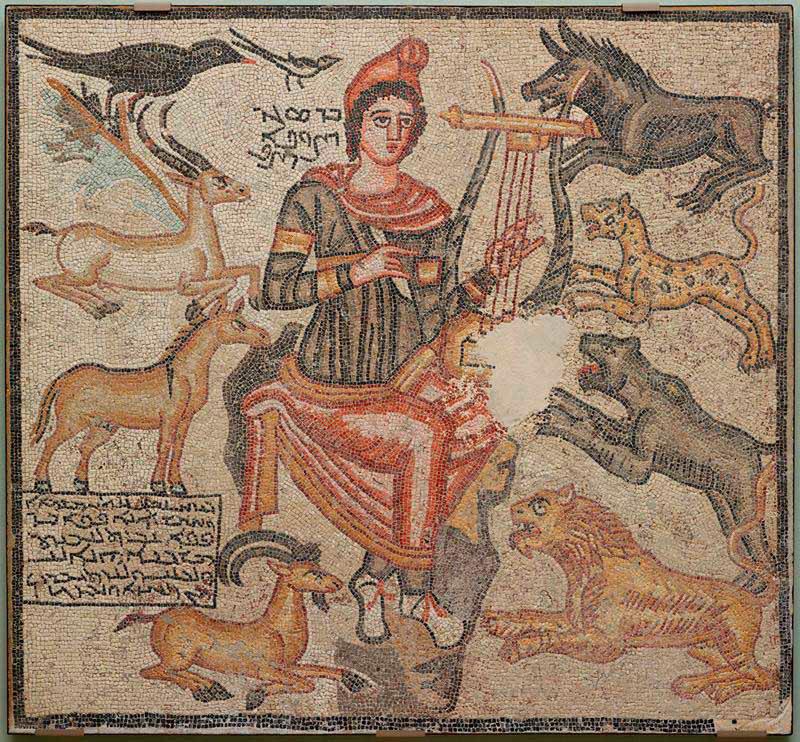 Ο Ορφέας απεικονίζεται στο ψηφιδωτό δάπεδο το οποίο το Μουσείο Τέχνης του Ντάλας επέστρεψε στην Τουρκία.