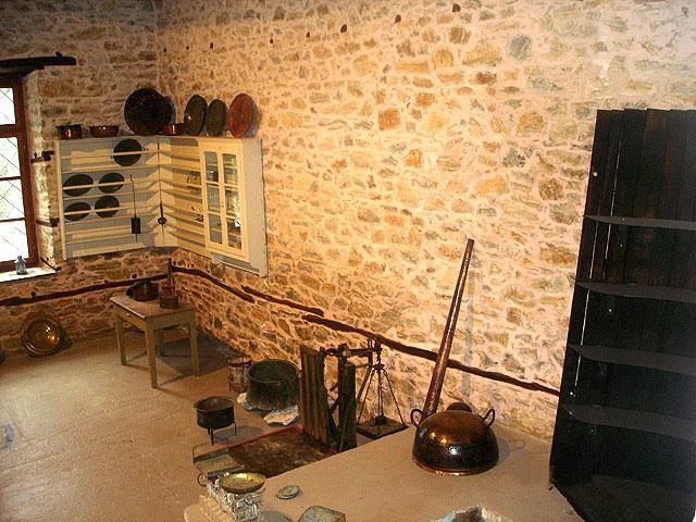Άποψη του εσωτερικού του Μουσείου Ελιάς και Λαδιού Πηλίου.