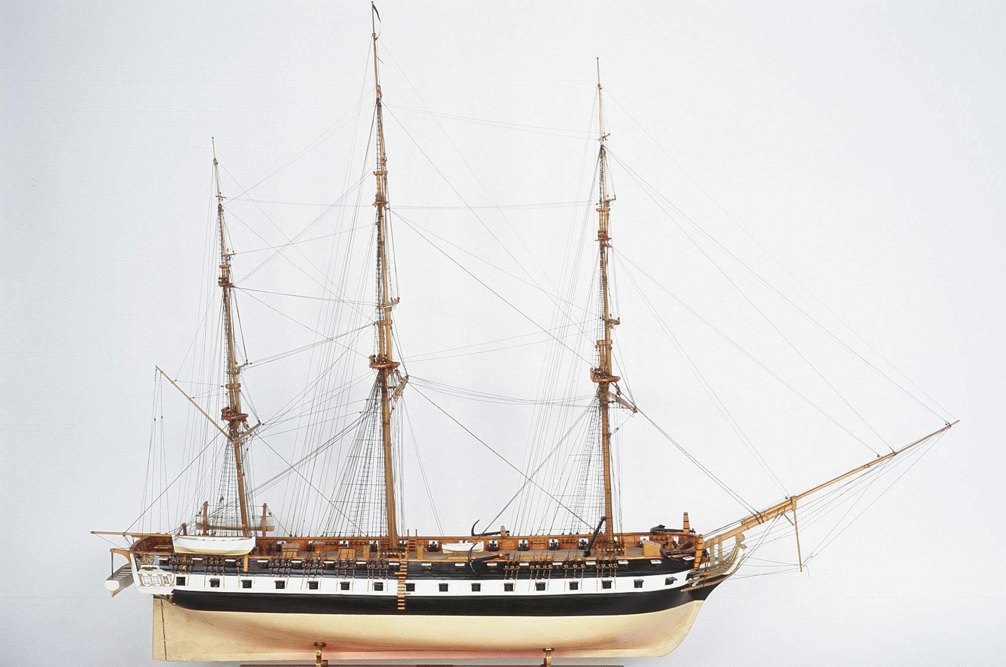 2121jpg Hellasu0027 Greek Frigate 1826 With Plans