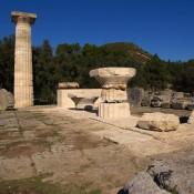 Προχωρά η αναστήλωση του ναού του Διός στην Ολυμπία