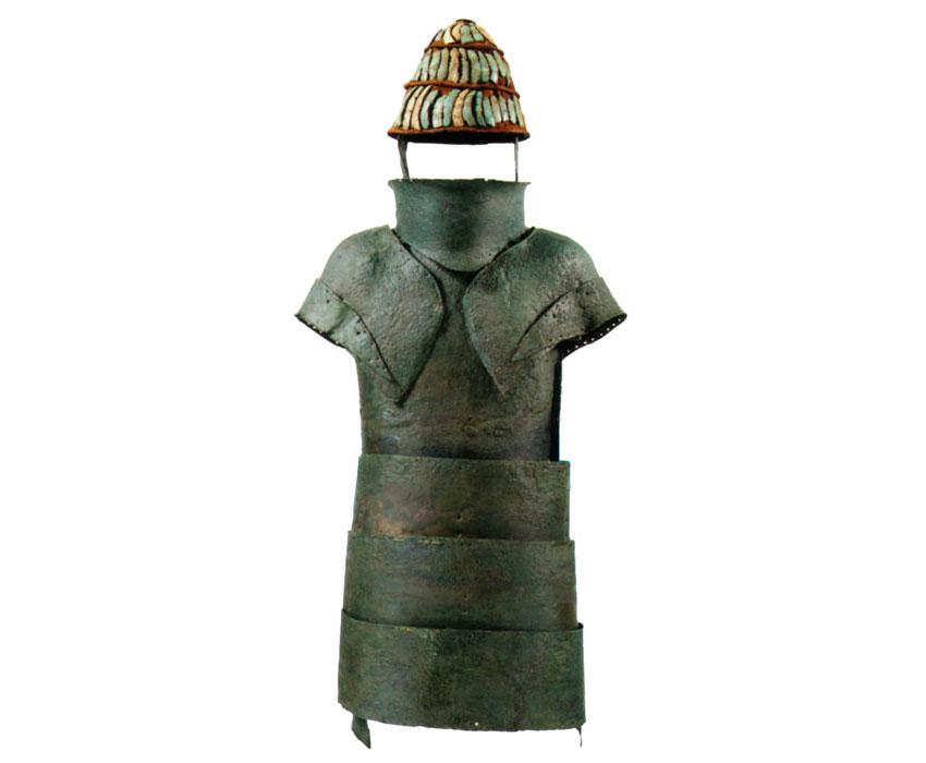 Η πανοπλία των Δενδρών. Αρχαιολογικό Μουσείο Ναυπλίου.