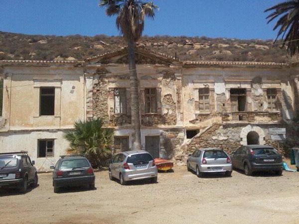 Εικ. 6. Το Διοικητήριο  της «Σέριφος-Σπηλιαζέζα» σήμερα.