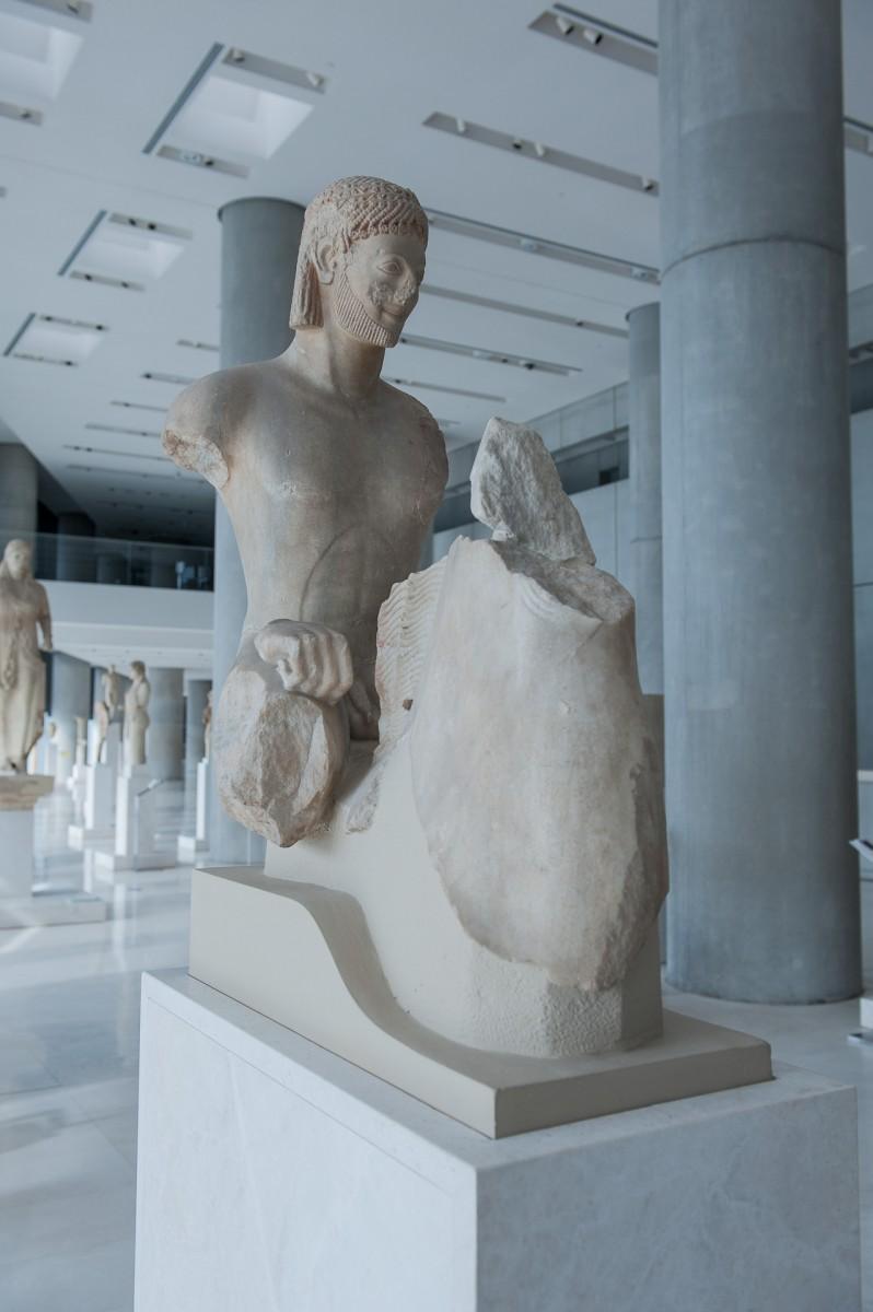 Ιππέας Rampin (αρ. 590), Μουσείο της Ακρόπολης