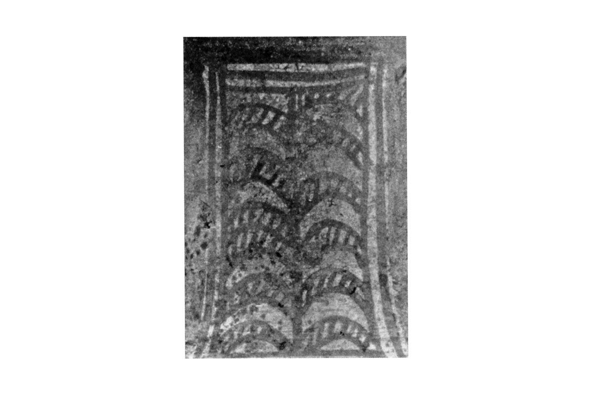 Εικ. 1α: Λεπτομέρεια του φυτικού κοσμήματος (φωτ. Ι. Παπαδάκης-Πλουμίδης).