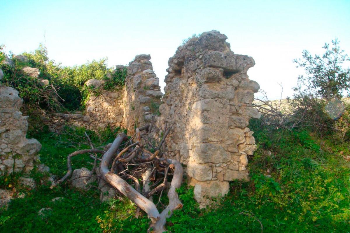 Εικ. 19. Ερείπια των προσκτισμάτων του μοναστηριού «στου Μερκούρη» (φωτ. Μ. Μιλιδάκης).