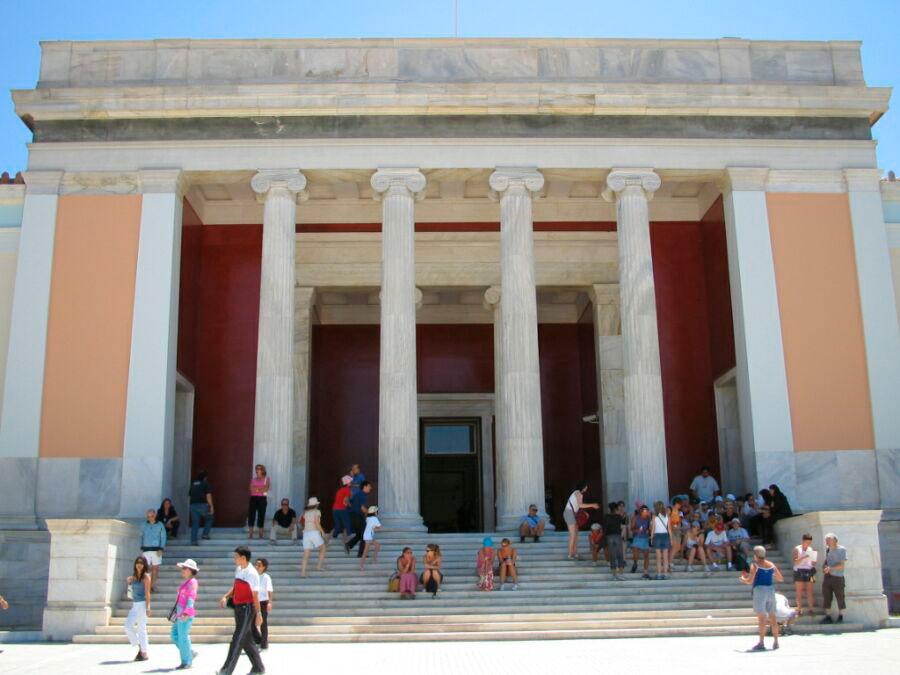 Το Εθνικό Αρχαιολογικό Μουσείο.