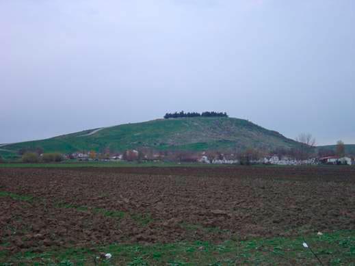 Άποψη του αρχαιολογικού χώρου Κιερίου.