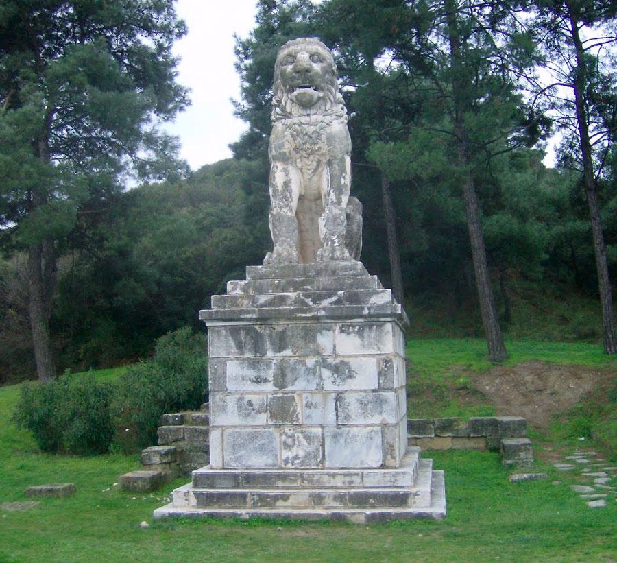 Το Λιοντάρι της Αμφίπολης.
