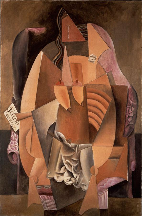 Πάμπλο Πικάσο, «Εύα», 1913. Μητροπολιτικό Μουσείο Τέχνης, Νέα Υόρκη.