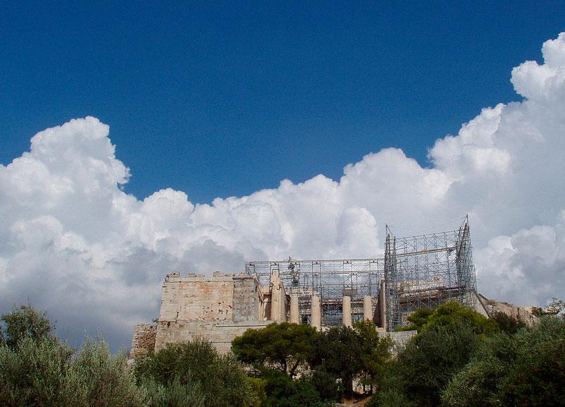 Tο έργο «Αποκατάσταση της Ανωδομής του Κεντρικού Κτιρίου των Προπυλαίων» βραβεύθηκε από την Europa Nostra (φωτ. Τ. Τανούλας, Europa Nostra).