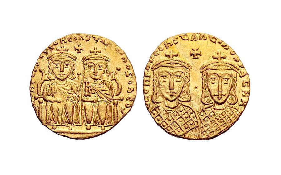Εικ. 4. Σόλιδος του Λέοντος Δ΄, 775-780. Ιδιωτική Συλλογή.