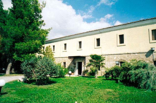 Το Αρχαιολογικό Μουσείο Λαμίας.