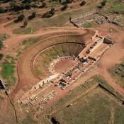 Το αρχαίο θέατρο της Μεσσήνης έτοιμο να υποδεχτεί το κοινό