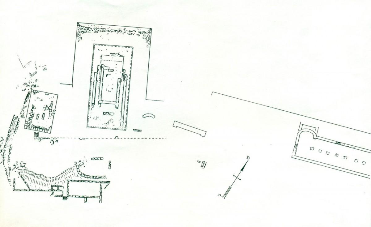Πίν. 5. Λαφριαίον ιερό (Κ. Ρωμαίος, Αρχαιολογικόν Δελτίον 10, (1926), Παράρτημα, σ. 25, εικ. 1).