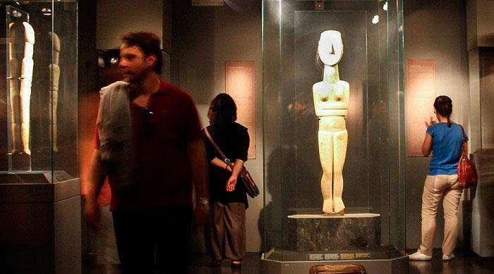 Ξεναγήσεις στο Μουσείο Κυκλαδικής Τέχνης.