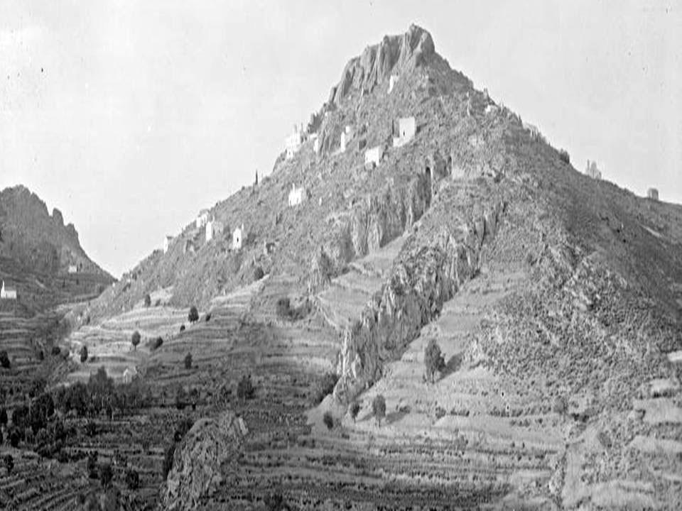 Εικ. 1. Άποψη της Παλαιοχώρας από τη νότια πλευρά (1912-1950). Πηγή: Αρχείο Μουσείου Μπενάκη.