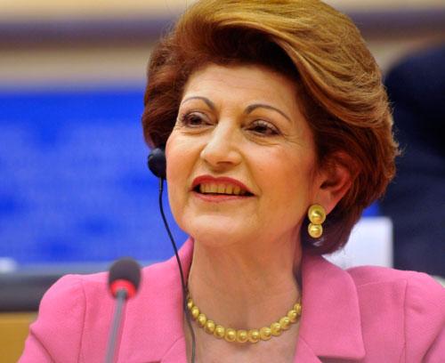 H Ευρωπαία Επίτροπος Aνδρούλλα Βασιλείου, αρμόδια για θέματα εκπαίδευσης, πολιτισμού, πολυγλωσσίας και νεολαίας.