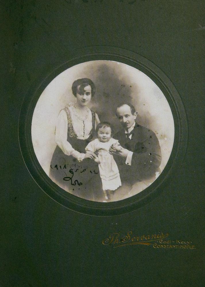 Εικ. 13. Ο συγγραφέας Omer Seyfettin το 1918. Φωτογραφία του Θεόδωρου Σερβάνη.