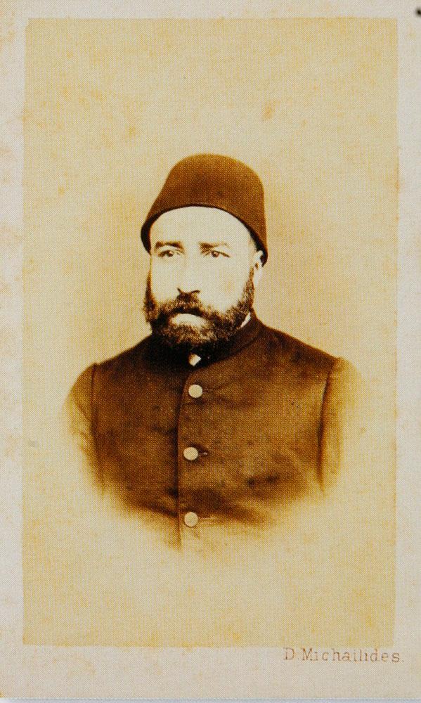 Εικ. 7. Ο Ιμπραήμ Σαρίμ πασάς το 1870. Φωτογραφία του Δημήτρη Μιχαηλίδη.