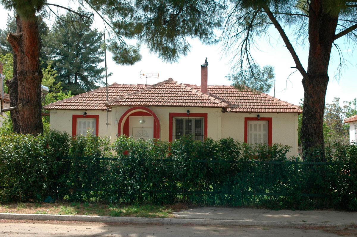 Εικ. 6. Κατοικία στον Συνοικισμό «Model Village» (προσωπικό αρχείο).