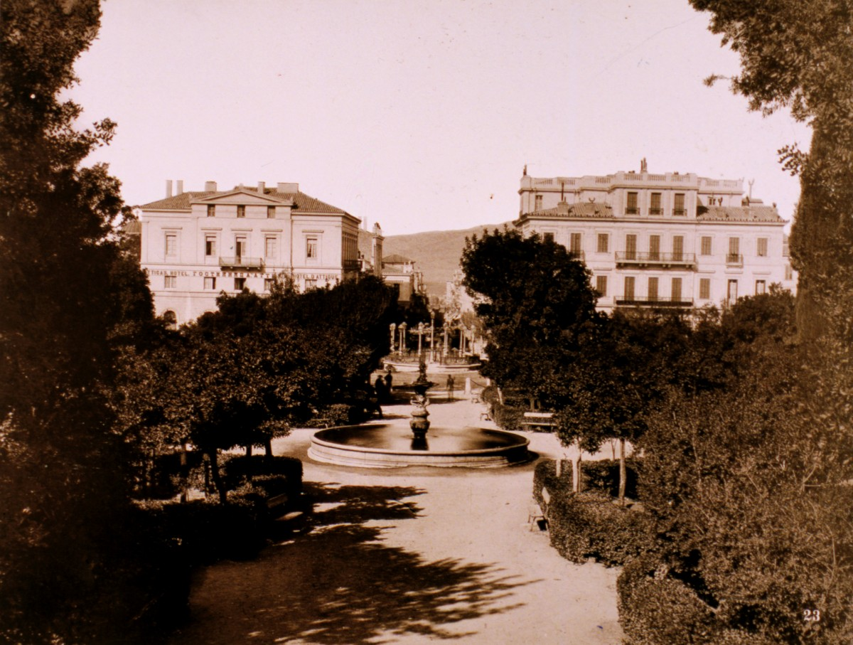 Η πλατεία Συντάγματος, γύρω στα 1890
