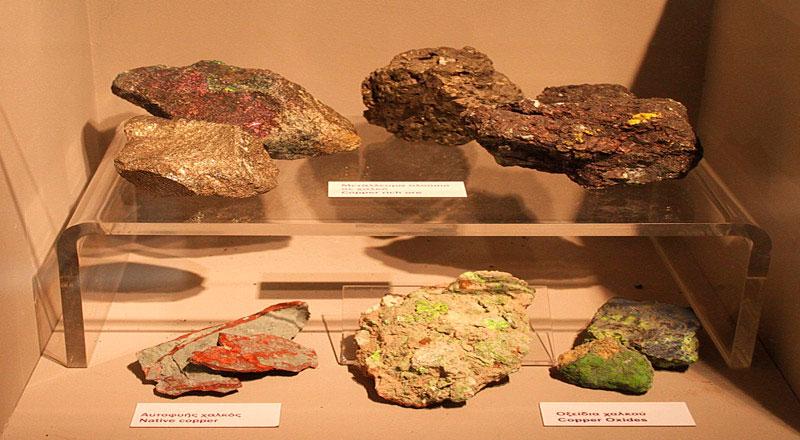 Άποψη της έκθεσης «Κύπρος και Γεωλογία. Επιστήμη - Περιβάλλον - Πολιτισμός».