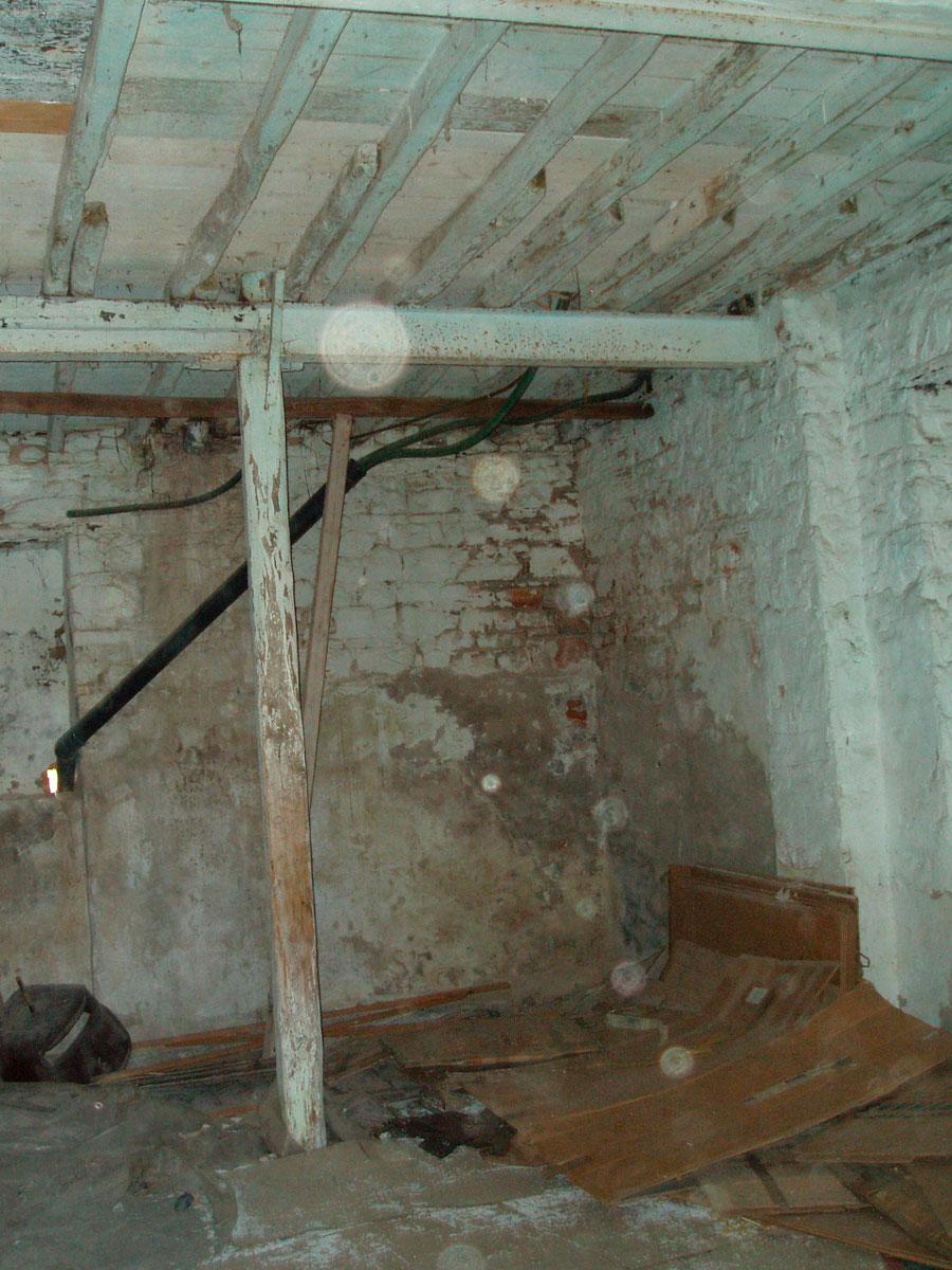 Εικ. 22. Άποψη του δυτικού τμήματος του ισογείου της οικίας.