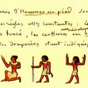 Τα ιερά γράμματα των αρχαίων Αιγυπτίων