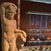 O Διόνυσος σε τραπεζοφόρο του Αρχαιολογικού Μουσείου Ιωαννίνων