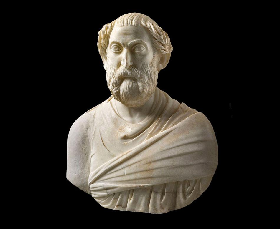 Προτομή αξιωματούχου. 4ος αιώνας. Εθνικό Αρχαιολογικό Μουσείο, Αθήνα.